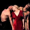 Alexandre Riabko, Anna Polikarpova and Otto Bubenicek of The Hamburg Ballet in Nijinsky. Photo by Holger Badekow.