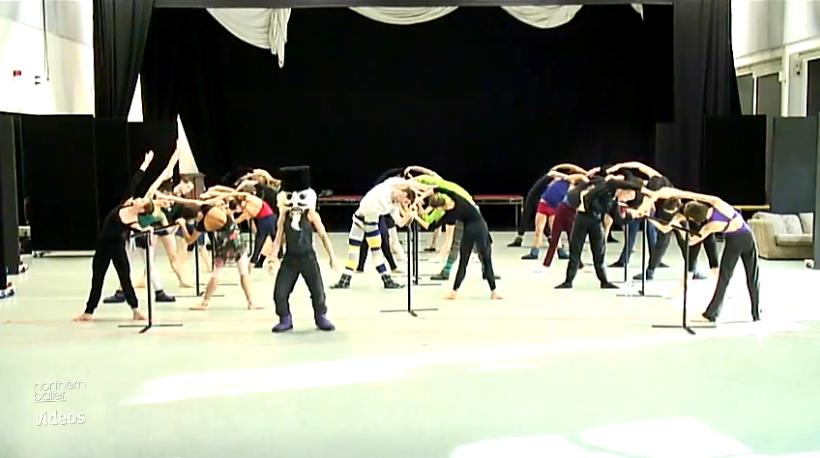 harlem shake, ballet class