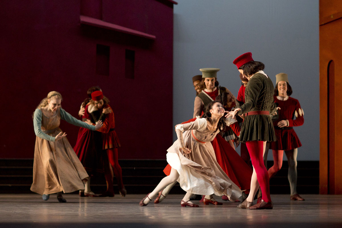 The National Ballet of Canada's Romeo & Juliet  Photograph Helen Maybanks