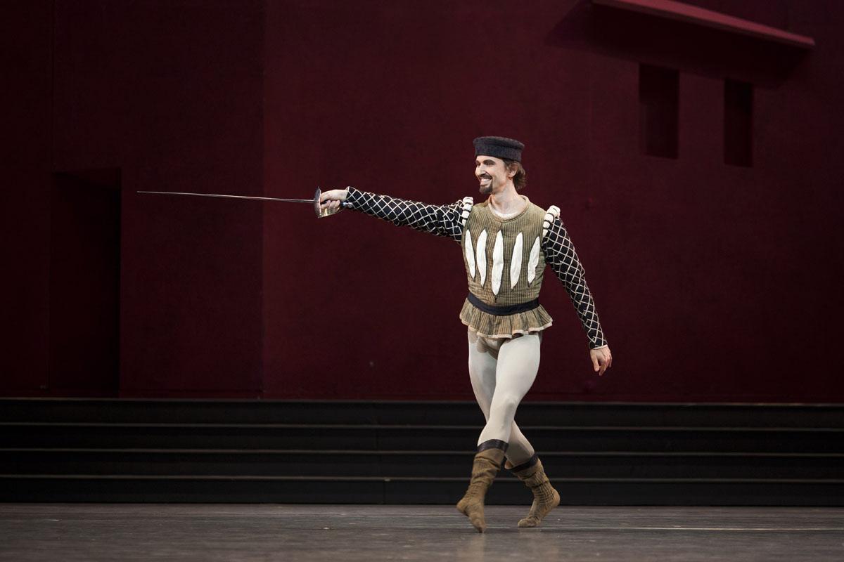 Jiri Jelinek as Tybalt  Photograph Helen Maybanks