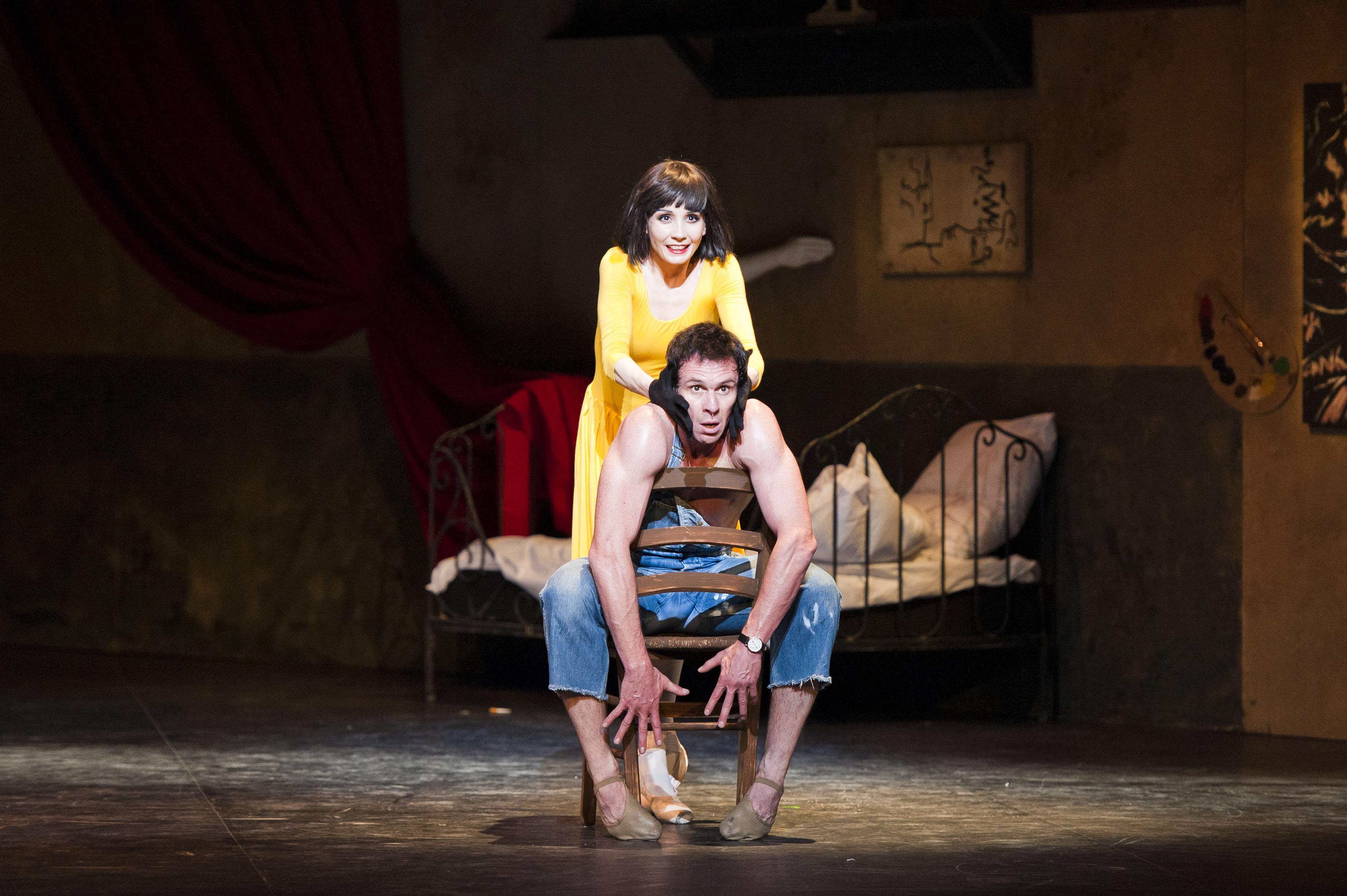 Tamara Rojo & Nicholas Le Riche in Le Jeune Homme et la Mort photograph by David Jensen