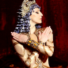 Ilze Liepa as Cleopatra photo Ida Rubinstein
