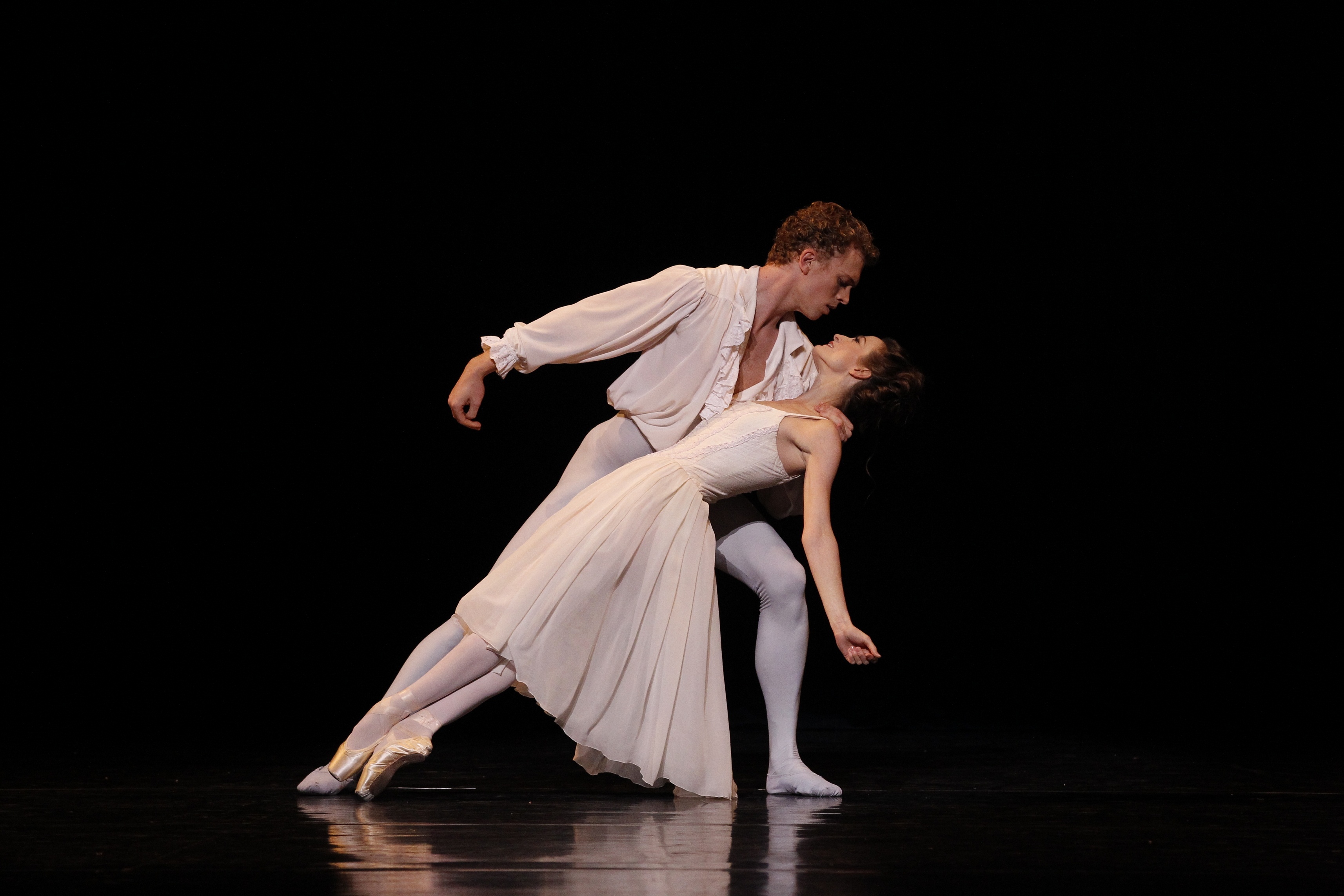 Adam Bull and Julie Kent in Manon 50th Anniversary Gala Photo by Jeff Busby
