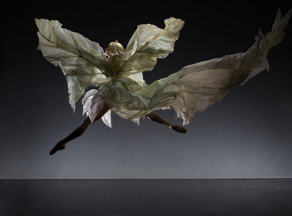 Dreda Blow as Titania in A Midsummer Night's Dream  Photo Jason Tozer