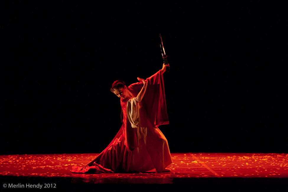 Pippa Moore as Butterfly in Madame Butterfly  Photo by Merlin Hendy