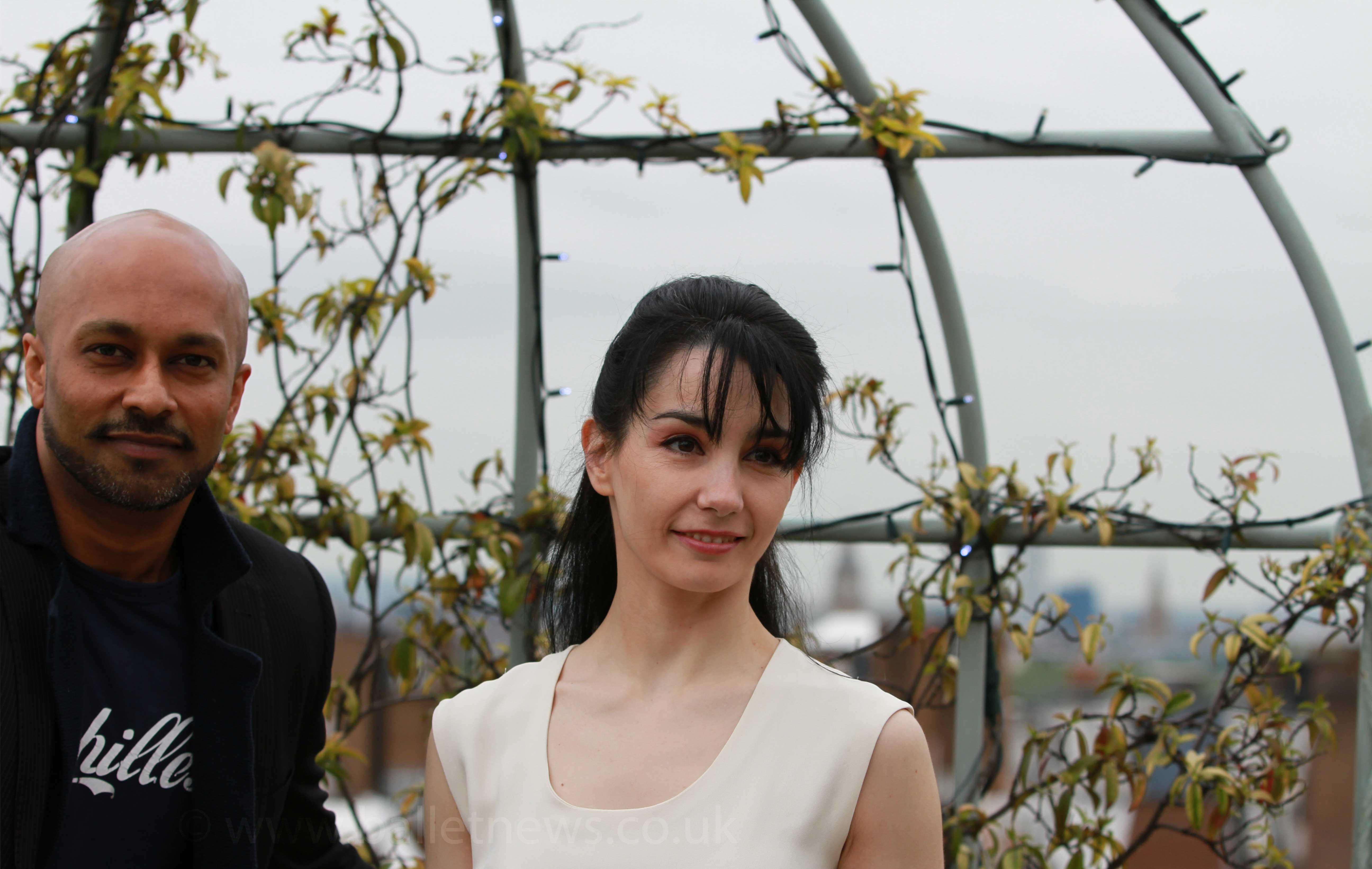 Tamara Rojo & Akram Khan Photograph : Cheryl Angear