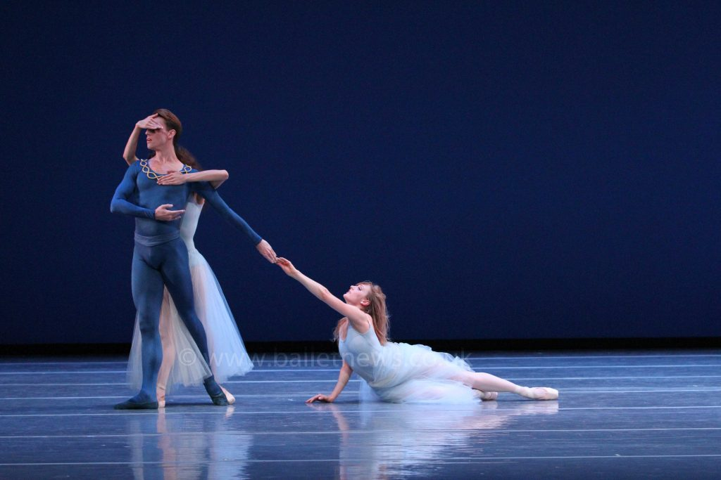 Boston Ballet in Serenade.  Photograph Cheryl Angear