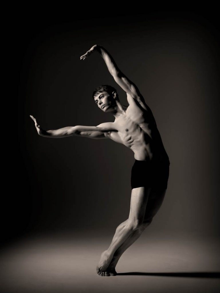 Christopher Harrison in Scottish Ballet's EIF promotional pictures. Photo by Graham Wylie