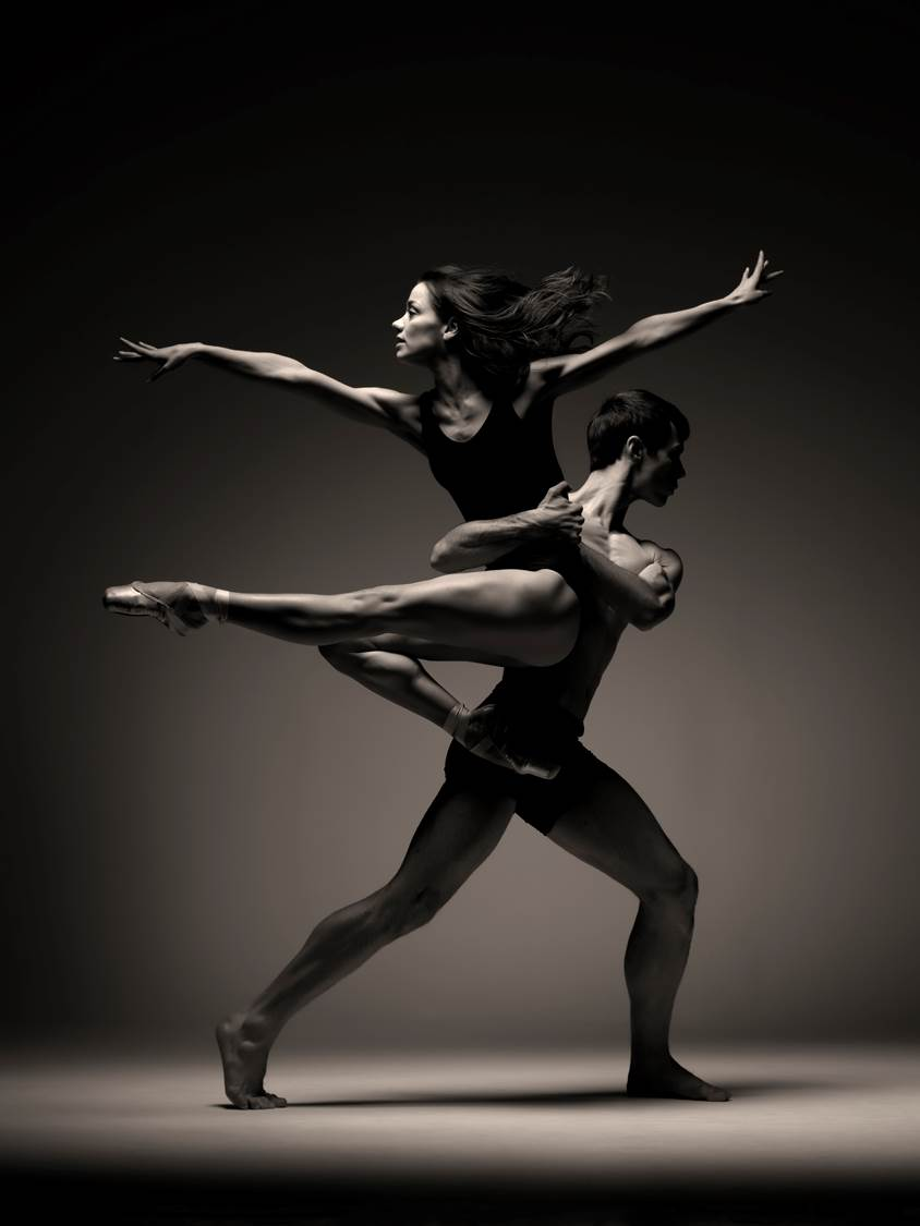 Christopher Harrison and Sophie Martin in Scottish Ballet's EIF promotional pictures. Photo by Graham Wylie