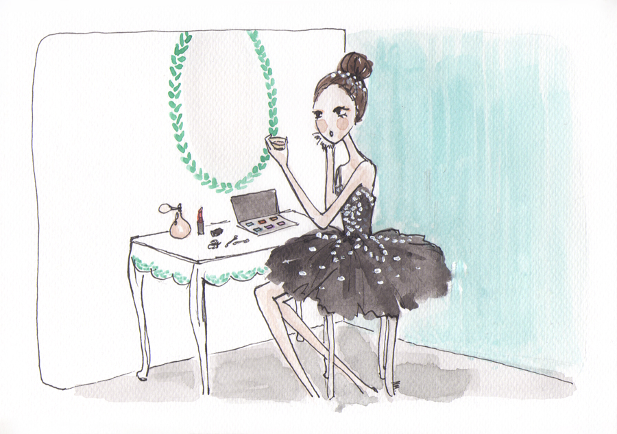A Ballet News World Exclusive Illustration by Noemi Manalang