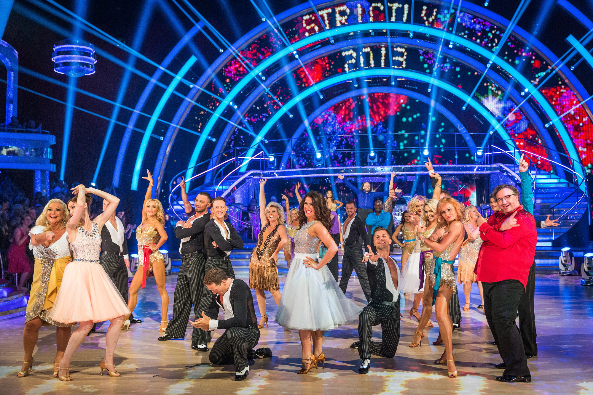 The cast of Strictly Come Dancing 2013 - (C) BBC - Photographer: Ray Burmiston