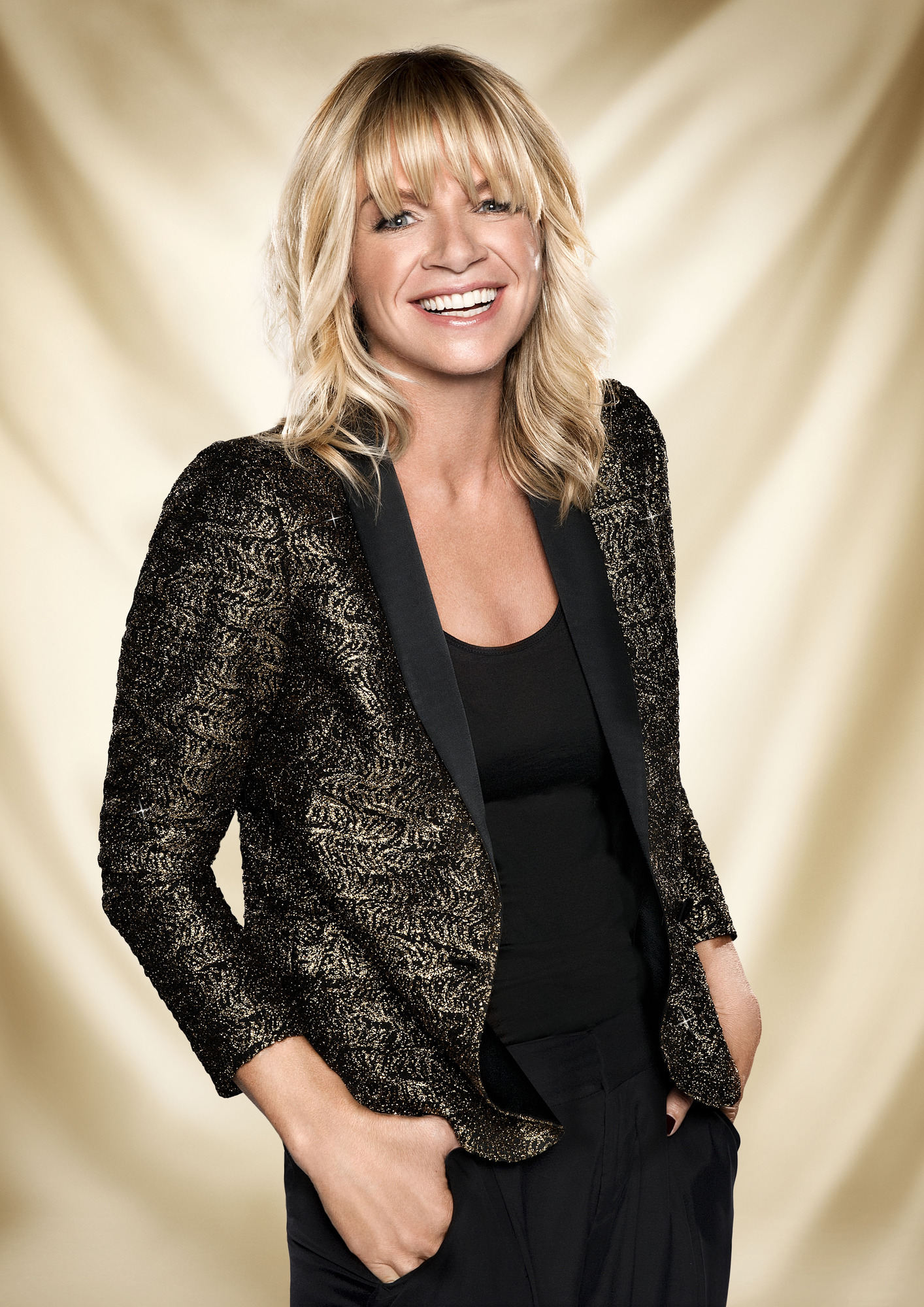 Zoe Ball - (C) BBC - Photographer: Ray Burmiston