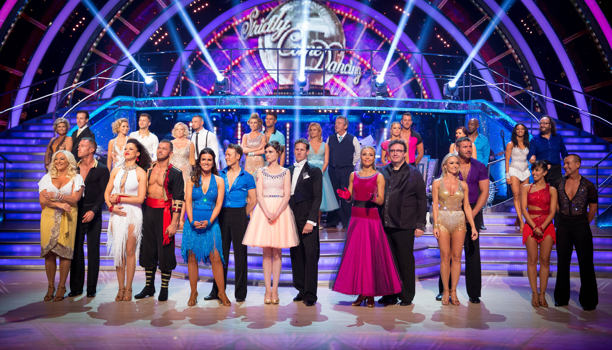 Contestants and Professional Dancers of Strictly Come Dancing 2013 - (C) BBC - Photographer: Guy Levy