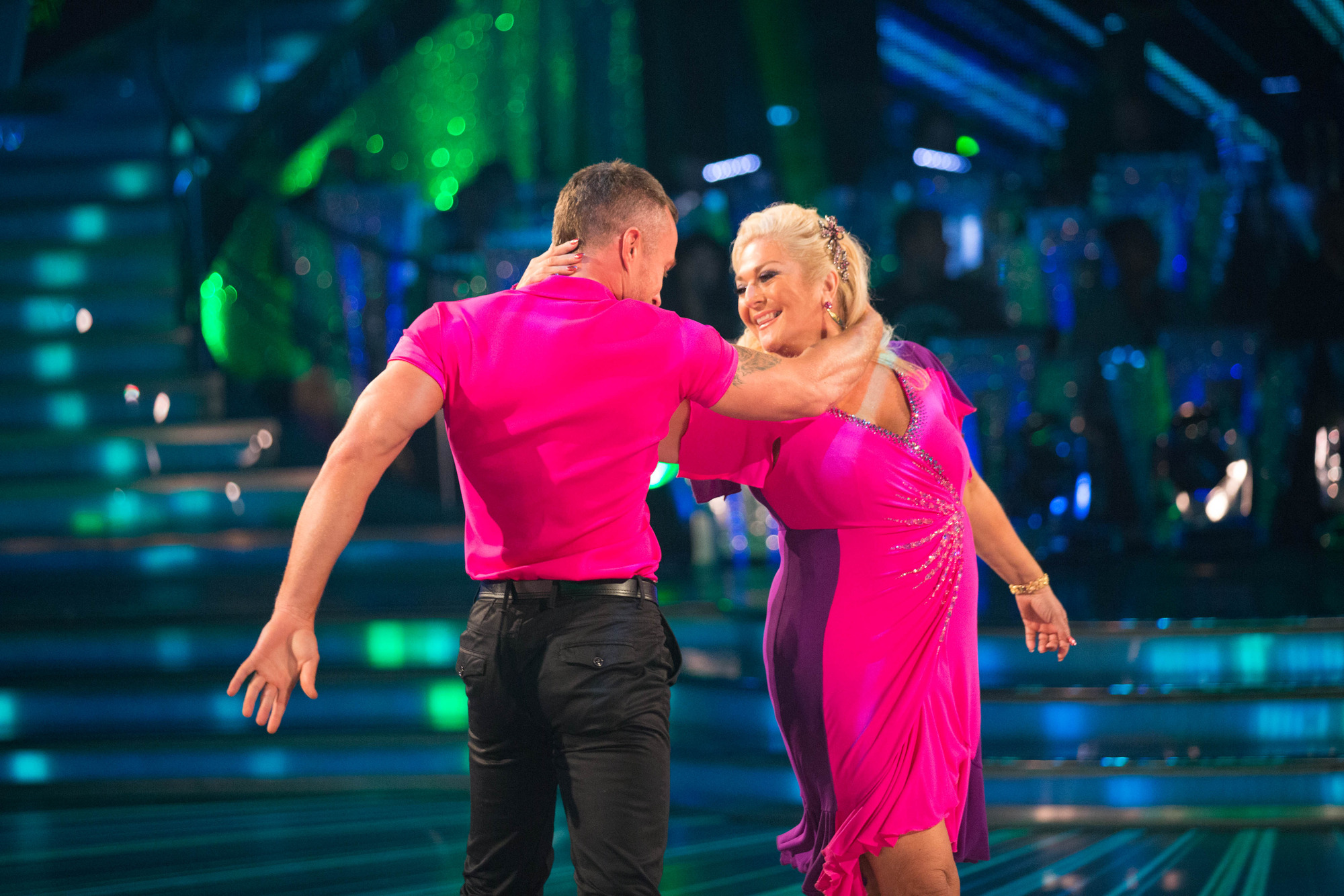 James Jordan, Vanessa Feltz - (C) BBC - Photographer: guy Levy