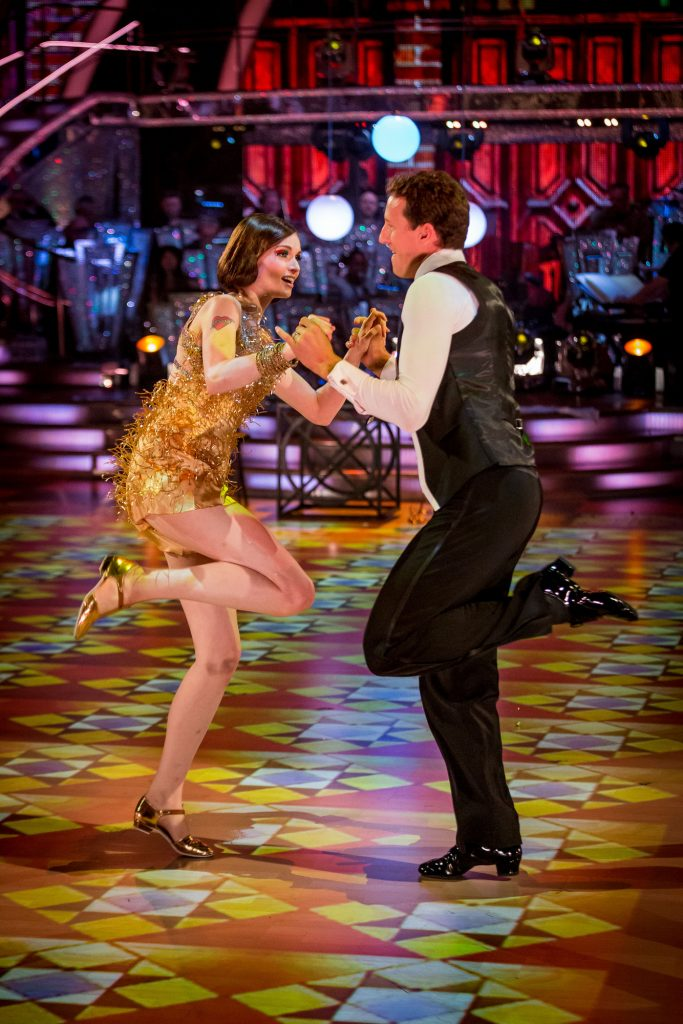 Brendan Cole, Sophie Ellis-Bexter - (C) BBC - Photographer: Guy Levy