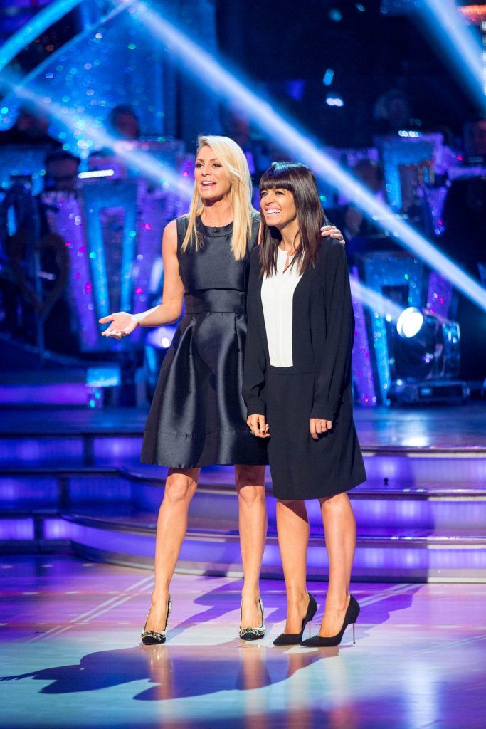 Tess Daly, Claudia Winkleman - (C) BBC - Photographer: Guy Levy