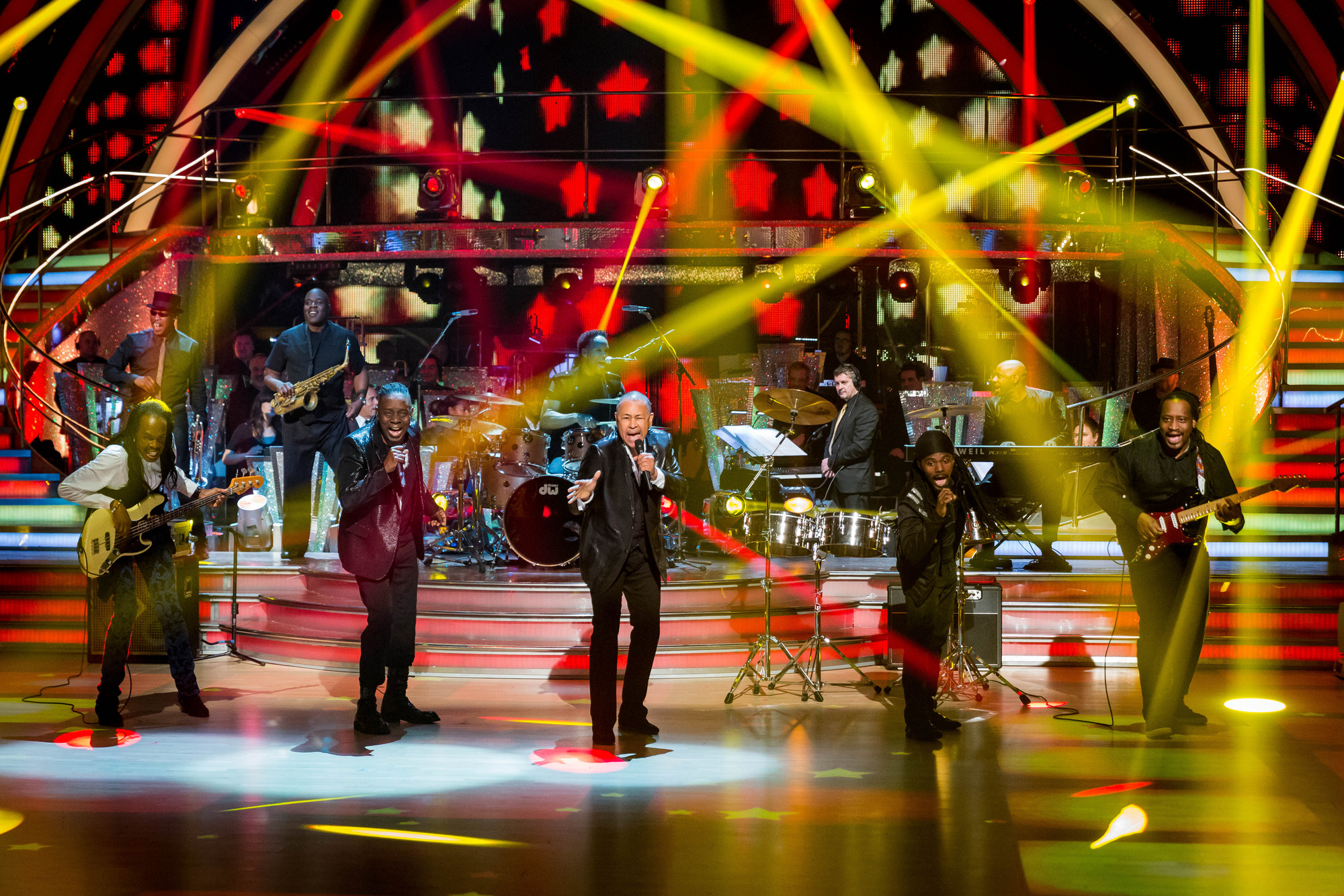 Earth Wind and Fire - (C) BBC - Photographer: Guy Levy