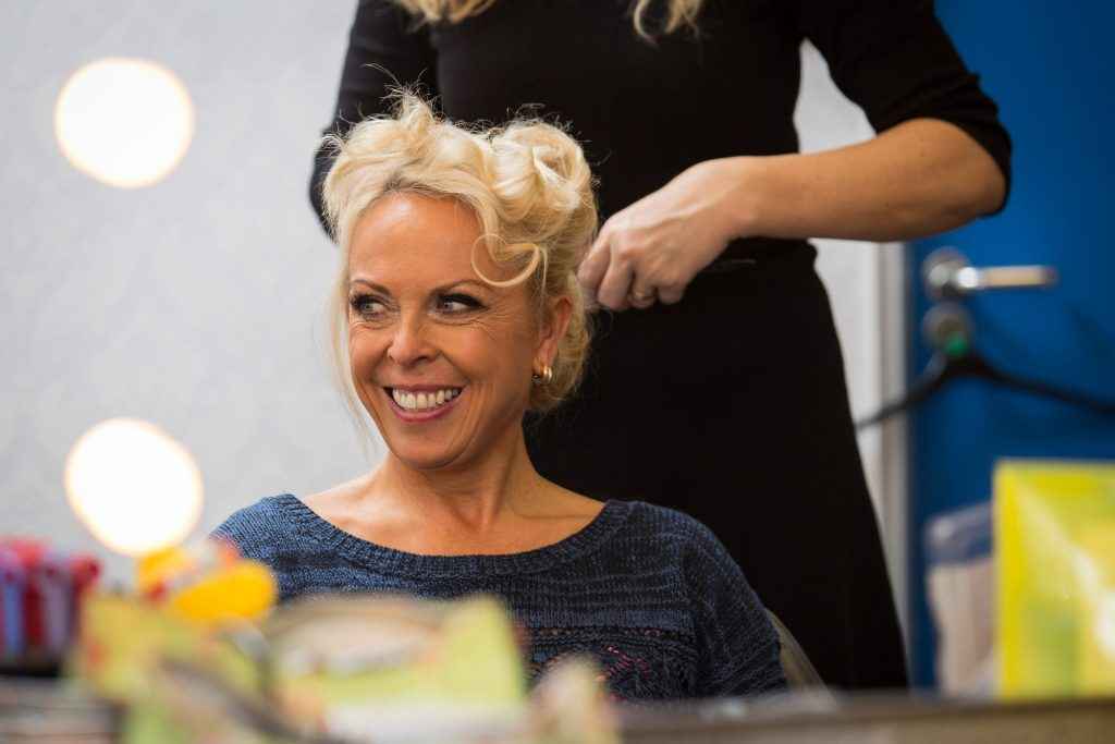 BEHIND THE SCENES Jayne Torvill - (C) BBC - Photographer: Guy Levy