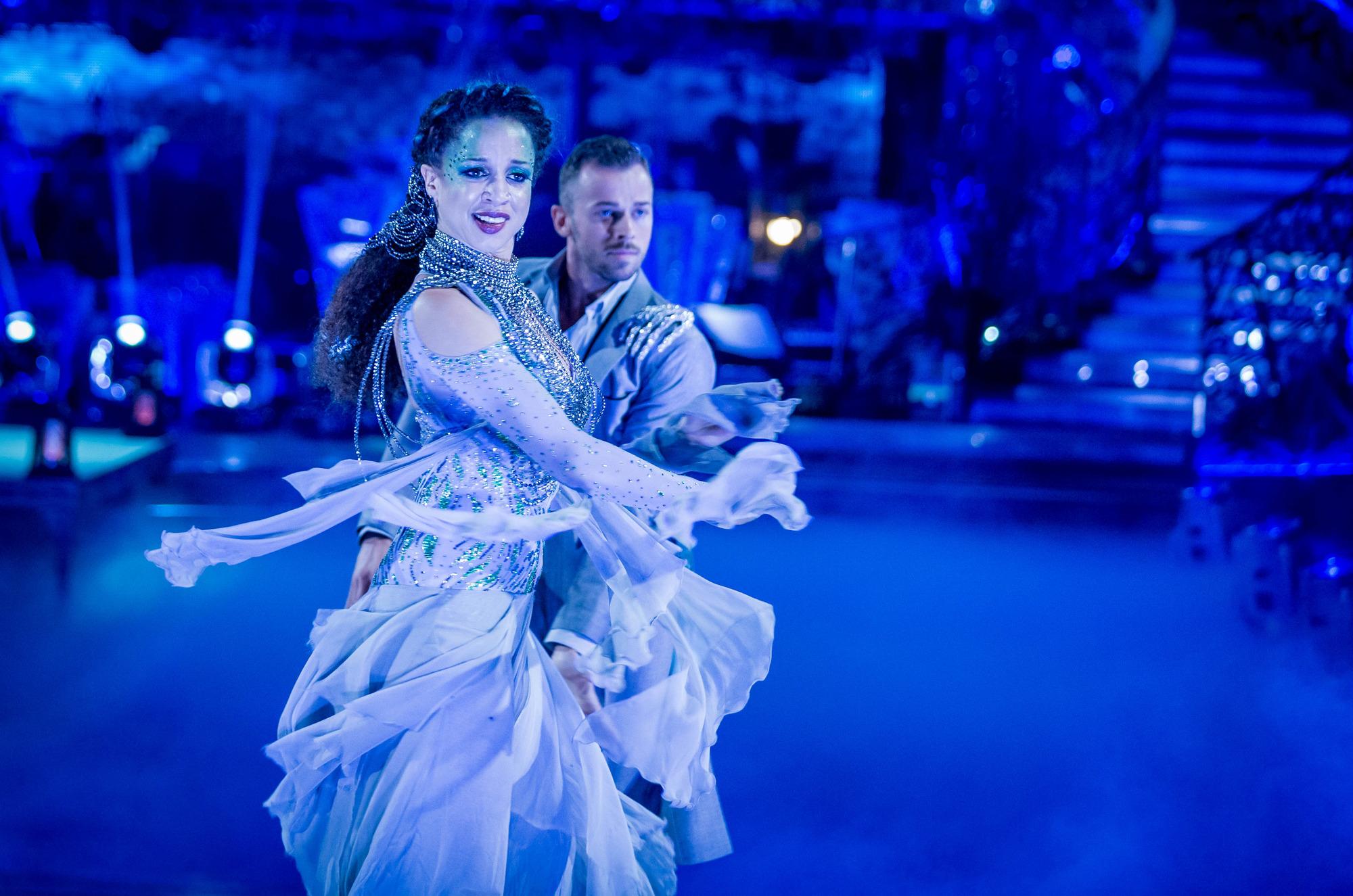 Natalie Gumede, Artem Chigvinstev - (C) BBC - Photographer: Guy Levy