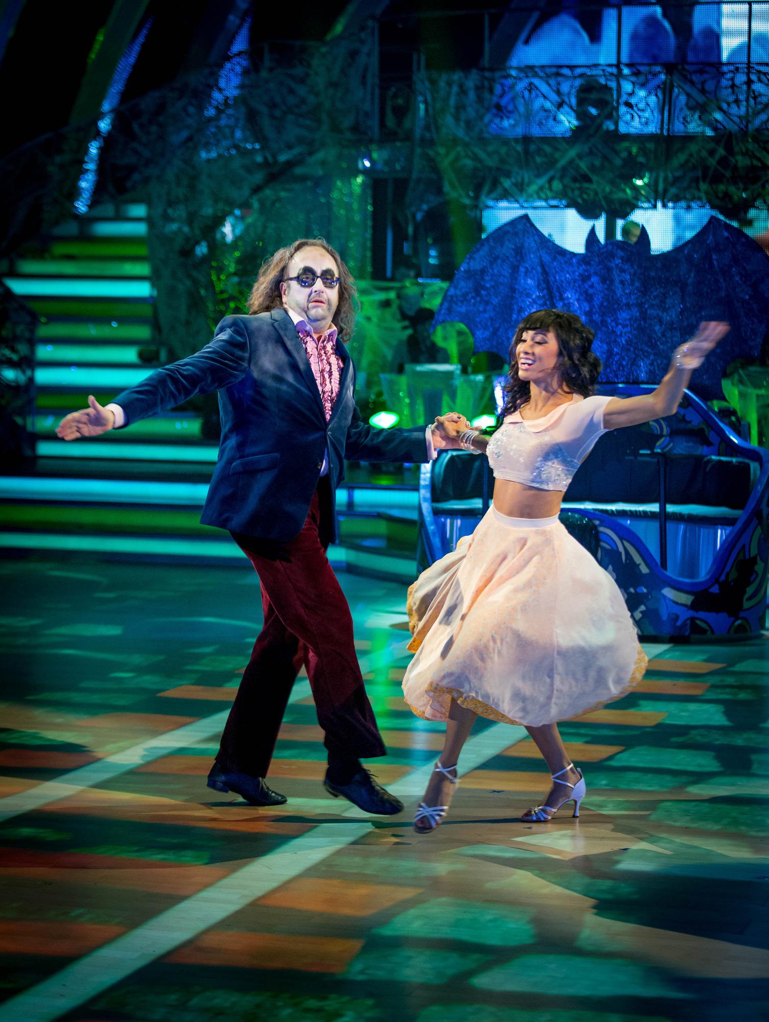 Dave Myers, Karen Hauer - (C) BBC - Photographer: Guy Levy