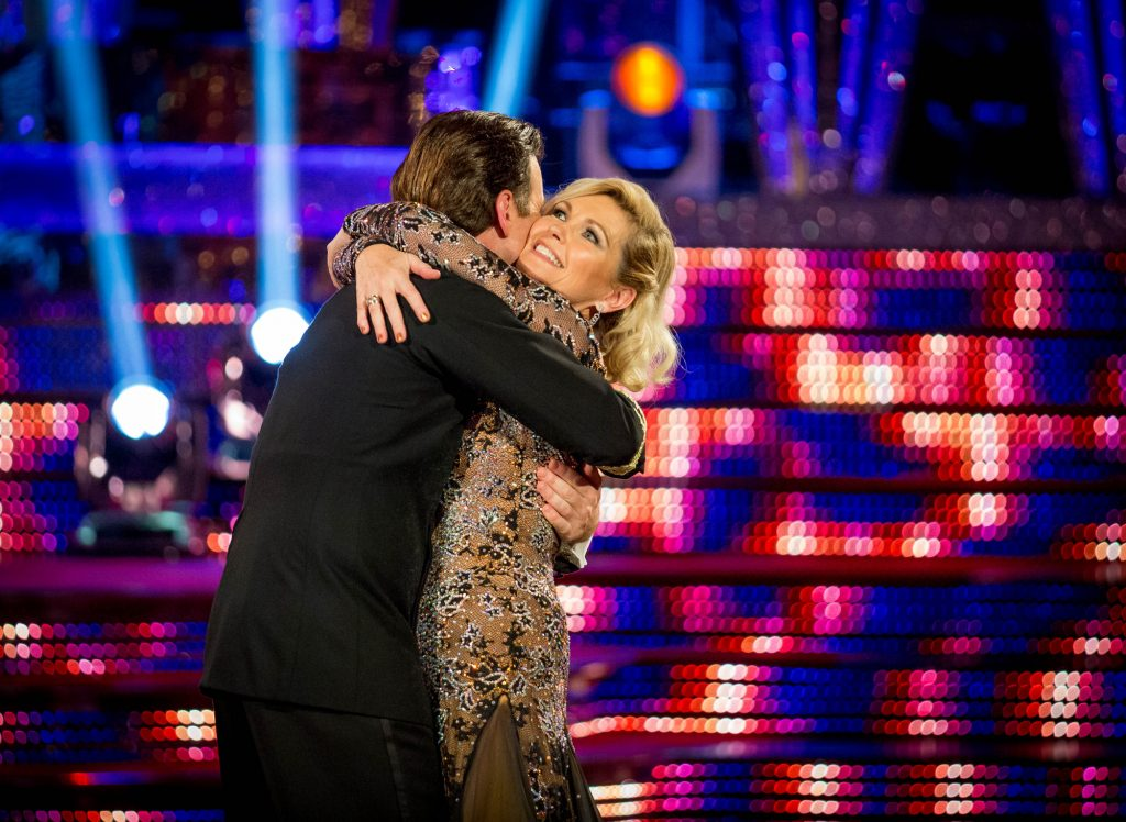 Fiona and Anton take their final dance Anton Du Beke, Fiona Fullerton - (C) BBC - Photographer: Guy Levy
