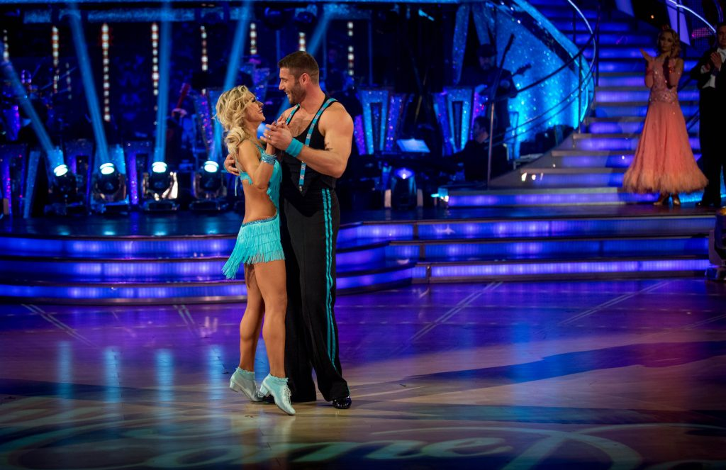 Ben and Kristina take their final dance Kristina Rihanoff, Ben Cohen - (C) BBC - Photographer: Kieron McCarron