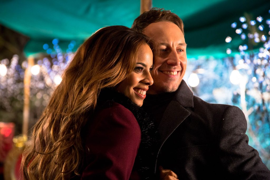 Ian Waite, Rochelle Humes - (C) BBC - Photographer: Guy Levy