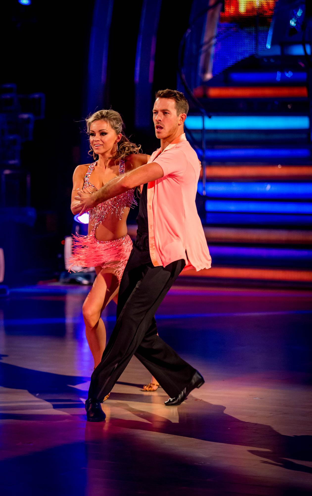 L - R Ola Jordan, Ashley Taylor Dawson - (C) BBC - Photographer: Guy Levy