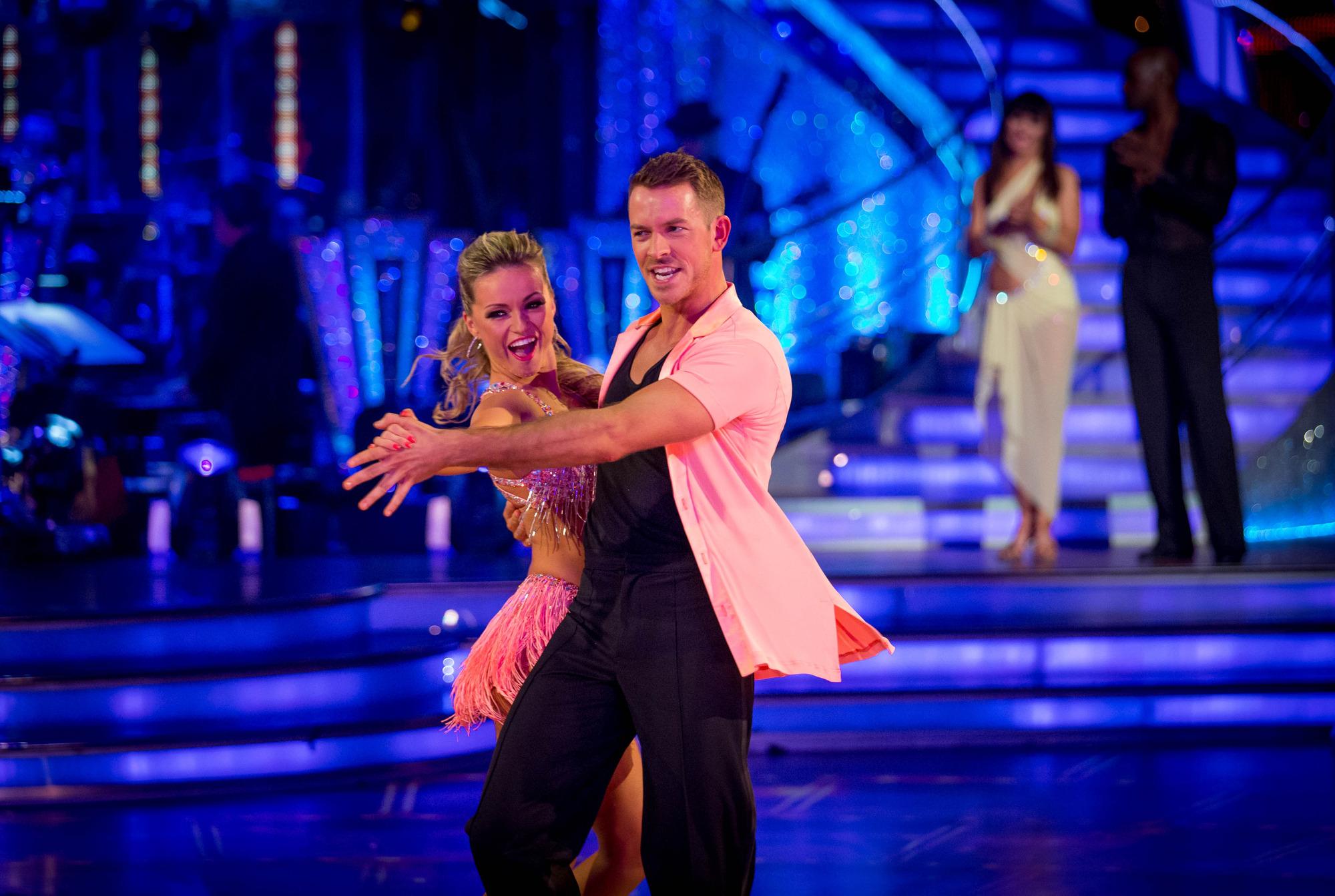 Ashley and Ola take their final dance Ola Jordan, Ashley Taylor Dawson - (C) BBC - Photographer: Guy Levy