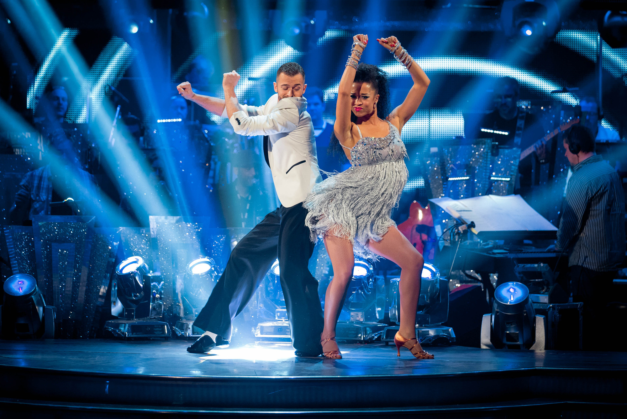 Artem Chigvinstev, Natalie Gumede - (C) BBC - Photographer: Guy Levy