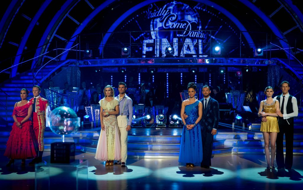 The final four couples  - (C) BBC - Photographer: Guy Levy