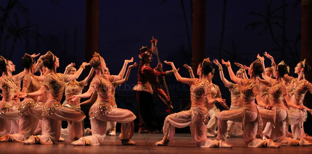 English National Ballet's Le Corsaire photographed by Cheryl Angear