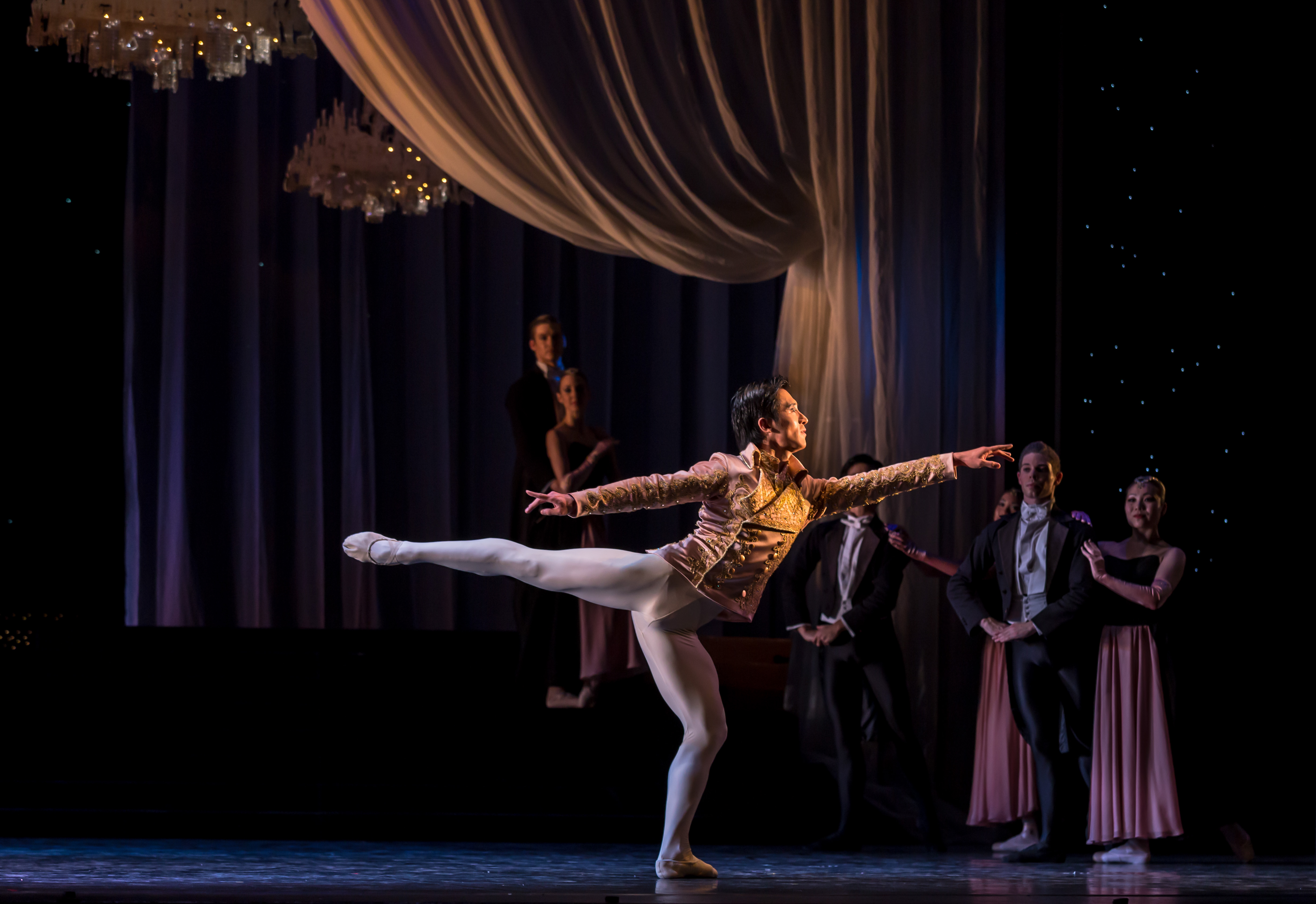 RNZB Cinderella - Qi Huan as the Prince PHOTO Evan Li