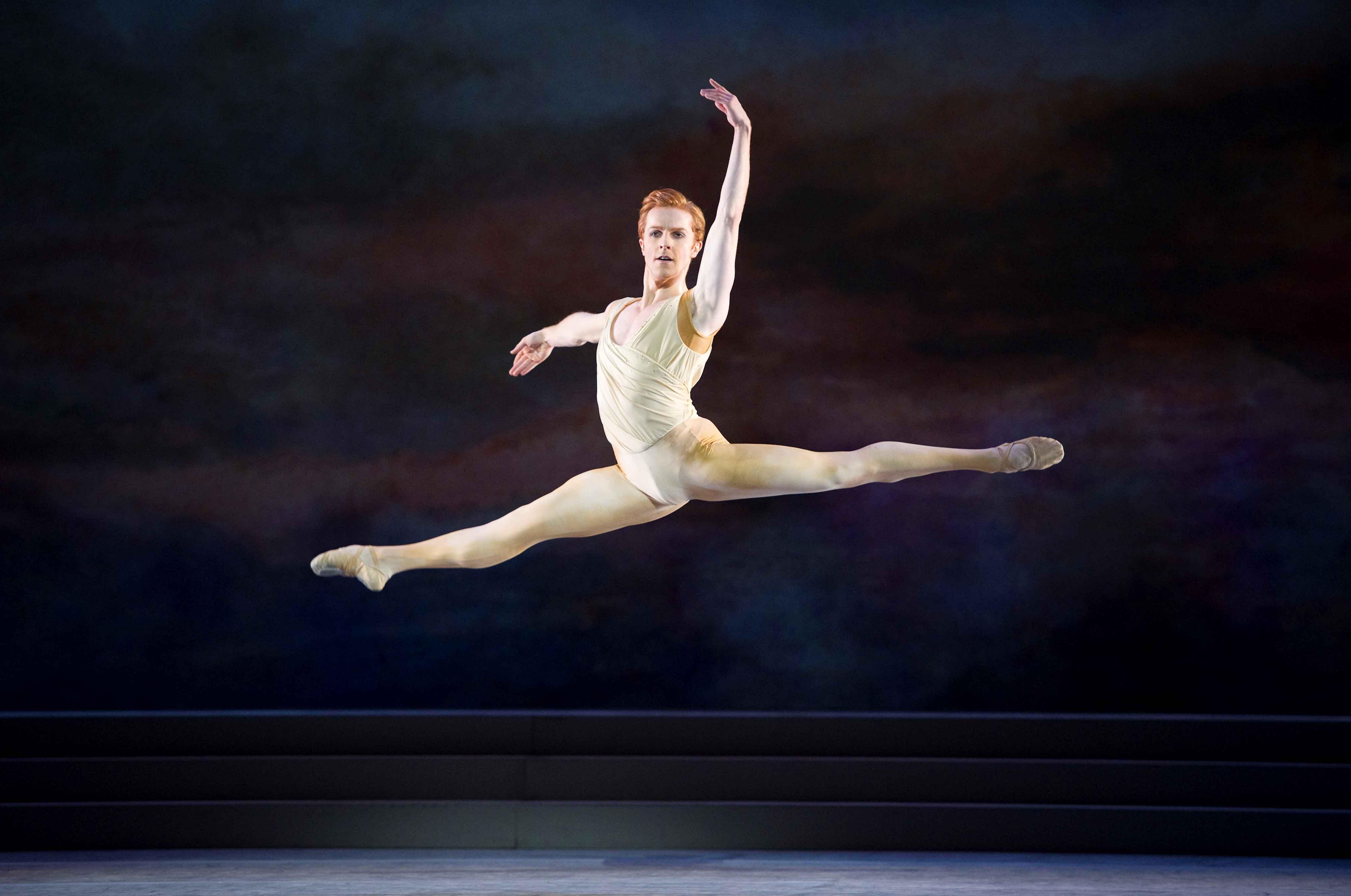 Steven McRae in The Royal Ballet's Rhapsody