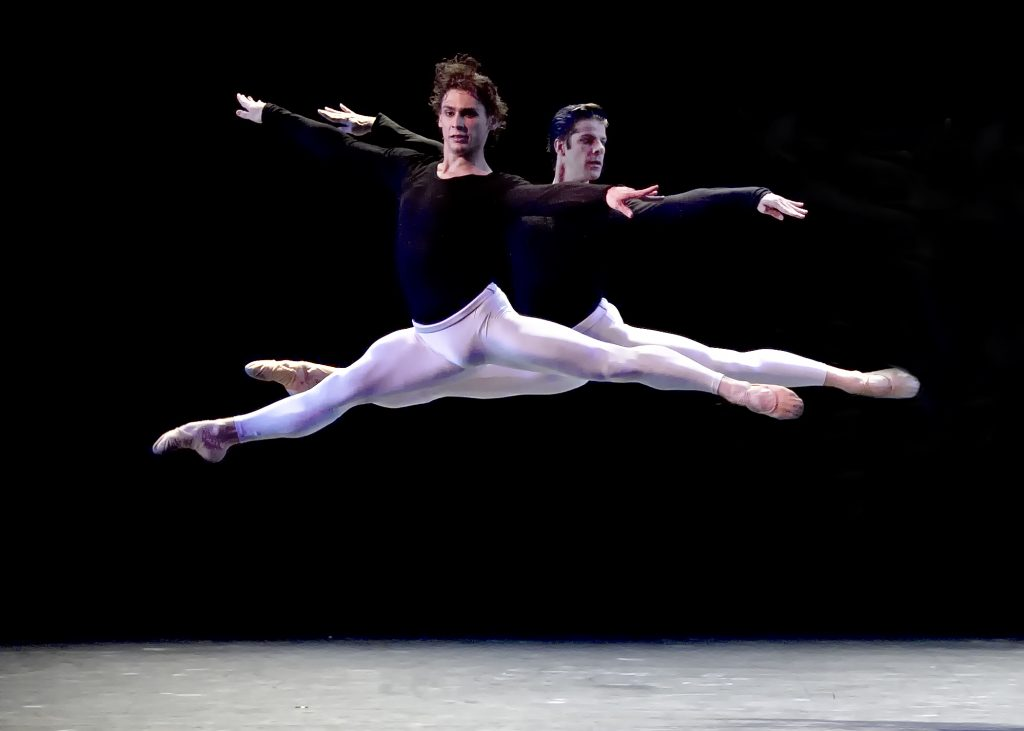 Kings of the Dance. Ivan Vasiliev and Marcelo Gomes in KO'd (c)Gene Schiavone