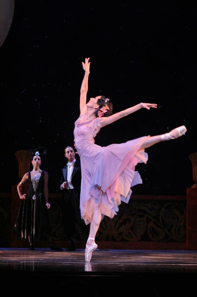 Sonia Rodriguez in Cinderella. Photo by Cylla von Tiedemann