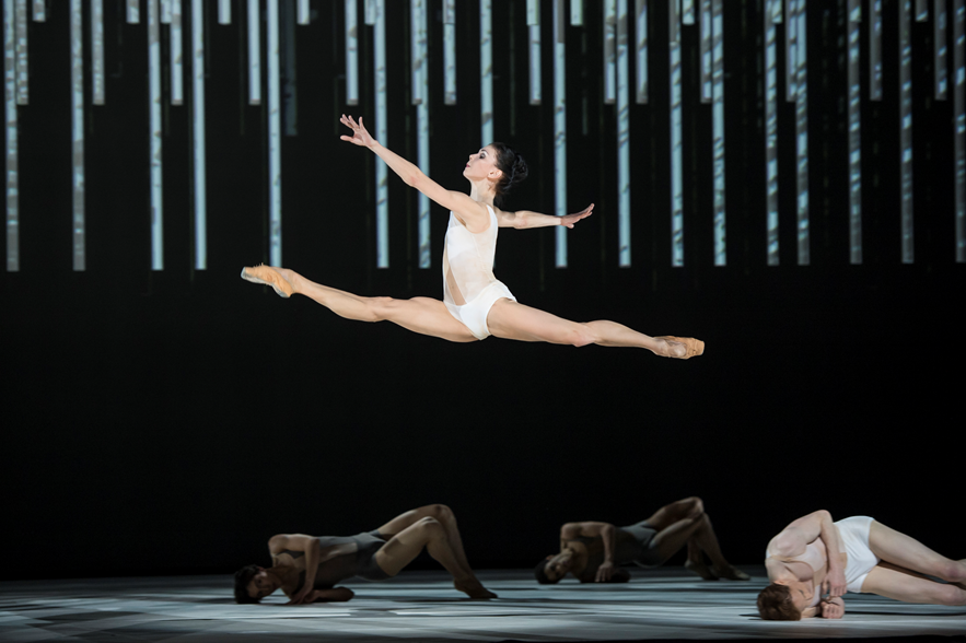 Natalia Osipova in The Royal Ballet's Connectome