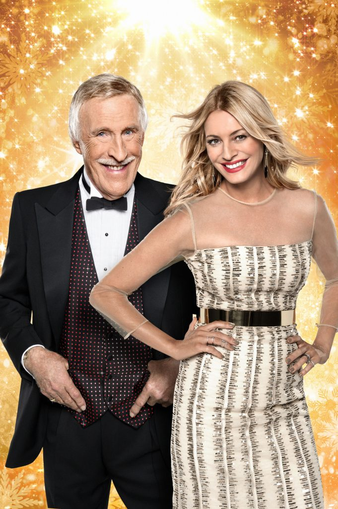 Tess Daly, Sir Bruce Forsyth - (C) BBC - Photographer: Ray Burmiston