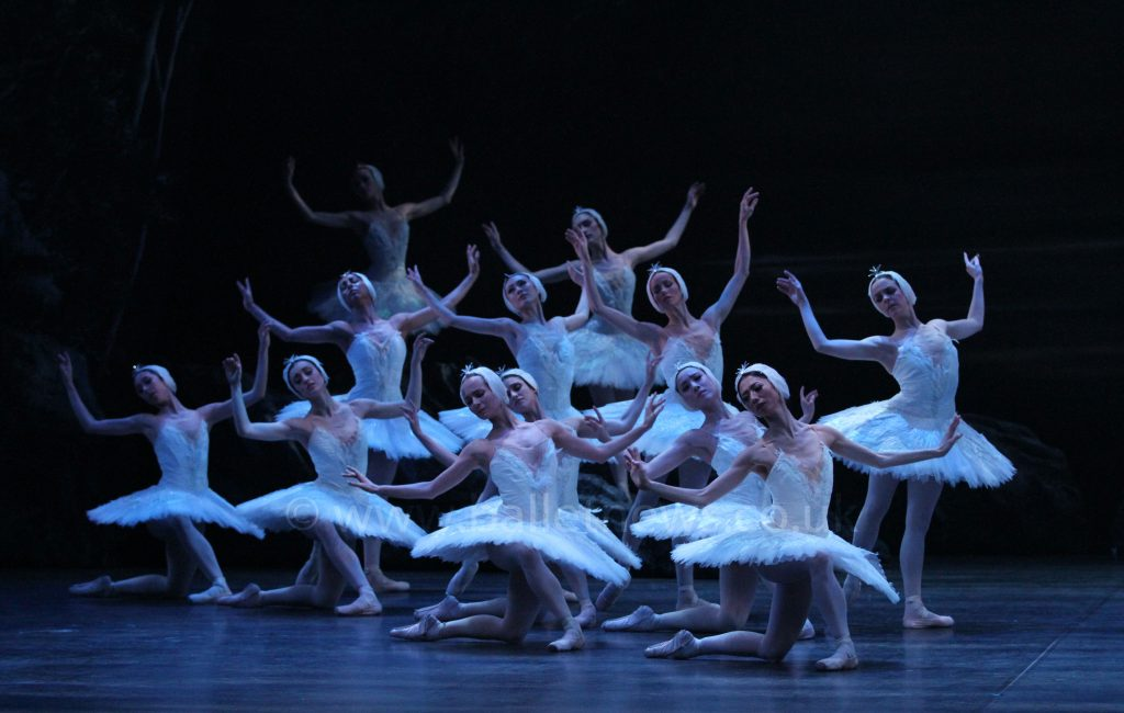 English National Ballet's Swan Lake photographed by Cheryl Angear