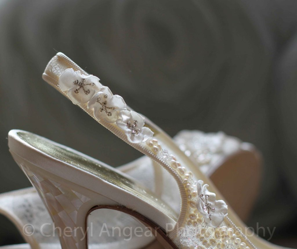 Freya Rose 'Reiki' bridal shoes photographed by Cheryl Angear