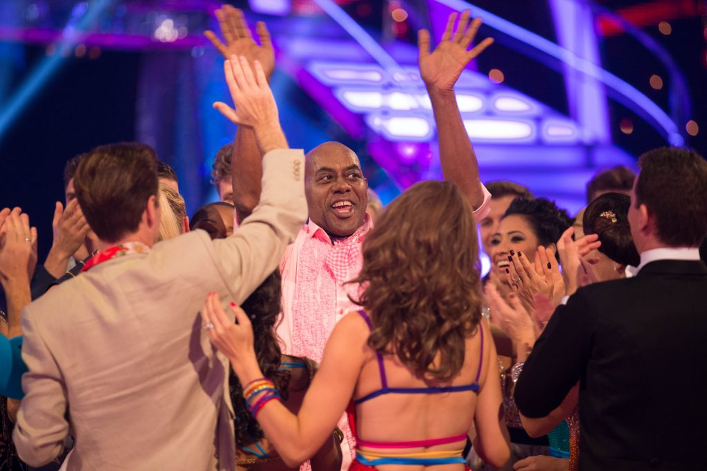 WARNING: Embargoed for publication until 20:00:00 on 25/10/2015 - Programme Name: Strictly Come Dancing 2015 - TX: 25/10/2015 - Episode: n/a (No. n/a) - Picture Shows: **RESULTS SHOW – EMBARGOED FOR PUBLICATION UNTIL 20:00 HRS ON SUNDAY 25TH OCTOBER 2015**