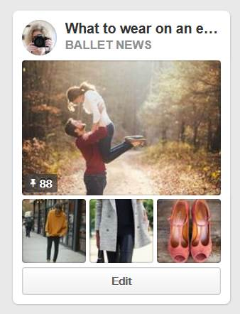 the Ballet News Pinterest board for what to wear on an engagement session