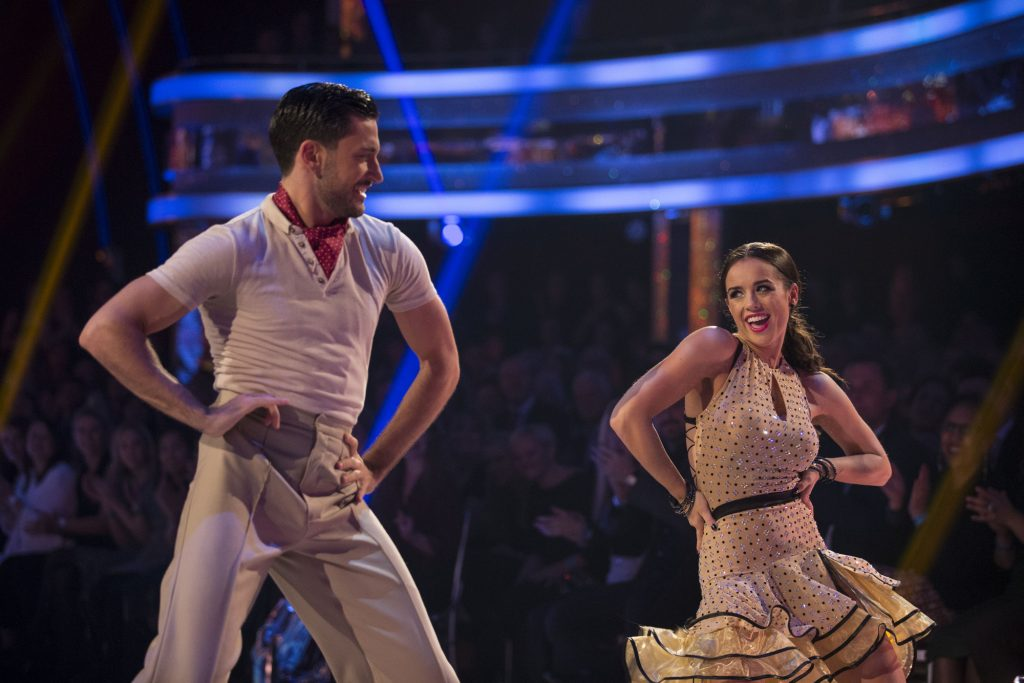 Programme Name: Strictly Come Dancing 2015 - TX: 07/11/2015 - Episode: n/a (No. n/a) - Picture Shows: **LIVE SHOW** Georgia May Foote, Giovanni Pernice - (C) BBC - Photographer: Guy Levy