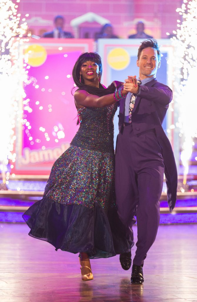 Programme Name: Strictly Come Dancing 2015 - TX: 21/11/2015 - Episode: n/a (No. n/a) - Picture Shows: **LIVE SHOW**