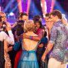 Jamelia and Tristan leave the competition Jamelia, Tristan MacManus - (C) BBC - Photographer: Guy Levy