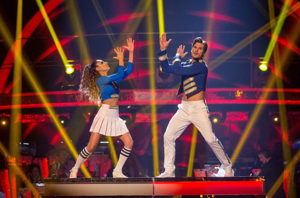 Programme Name: Strictly Come Dancing 2015 - TX: 12/12/2015 - Episode: n/a (No. n/a) - Picture Shows: **LIVE SHOW** Anita Rani, Gleb Savchenko - (C) BBC - Photographer: Guy Levy