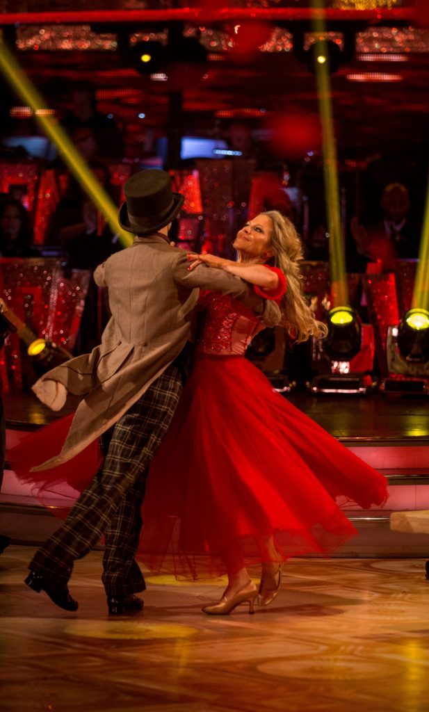 Programme Name: Strictly Come Dancing 2015 - TX: 05/12/2015 - Episode: n/a (No. n/a) - Picture Shows: **LIVE SHOW** Kevin Clifton, Kellie Bright - (C) BBC - Photographer: Guy Levy