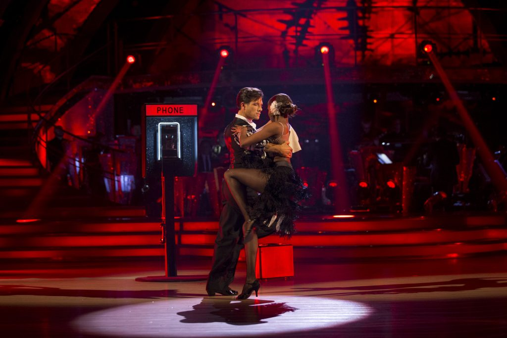 Programme Name: Strictly Come Dancing 2016 - TX: 12/11/2016 - Episode: n/a (No. n/a) - Picture Shows:  Danny Mac, Oti Mabuse - (C) BBC  - Photographer: Guy Levy