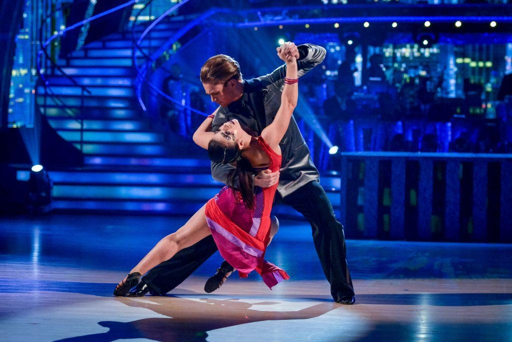AJ Pritchard, Claudia Fragapane - (C) BBC - Photographer: Kieron McCarron