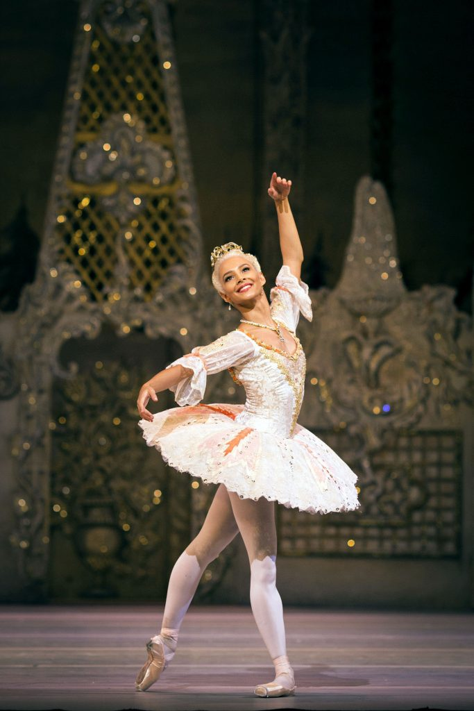 The Nutcracker – Francessca Hayward as the Sugar Plum Fairy  - (C) Royal Opera House - Photographer: Helen Maybanks
